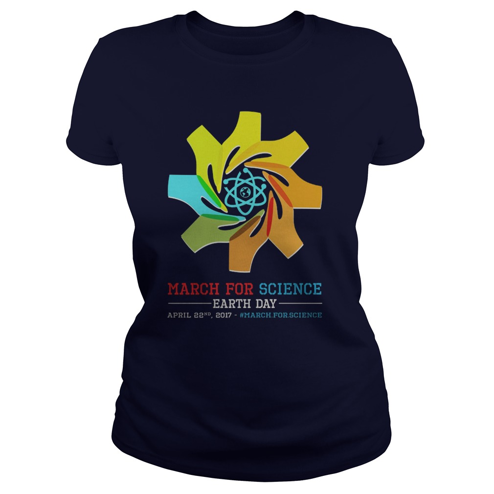 March Science Earth Day Ladies Tee