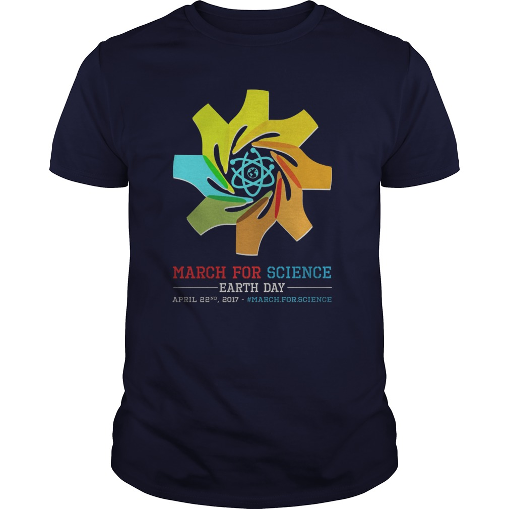 March Science Earth Day Shirt