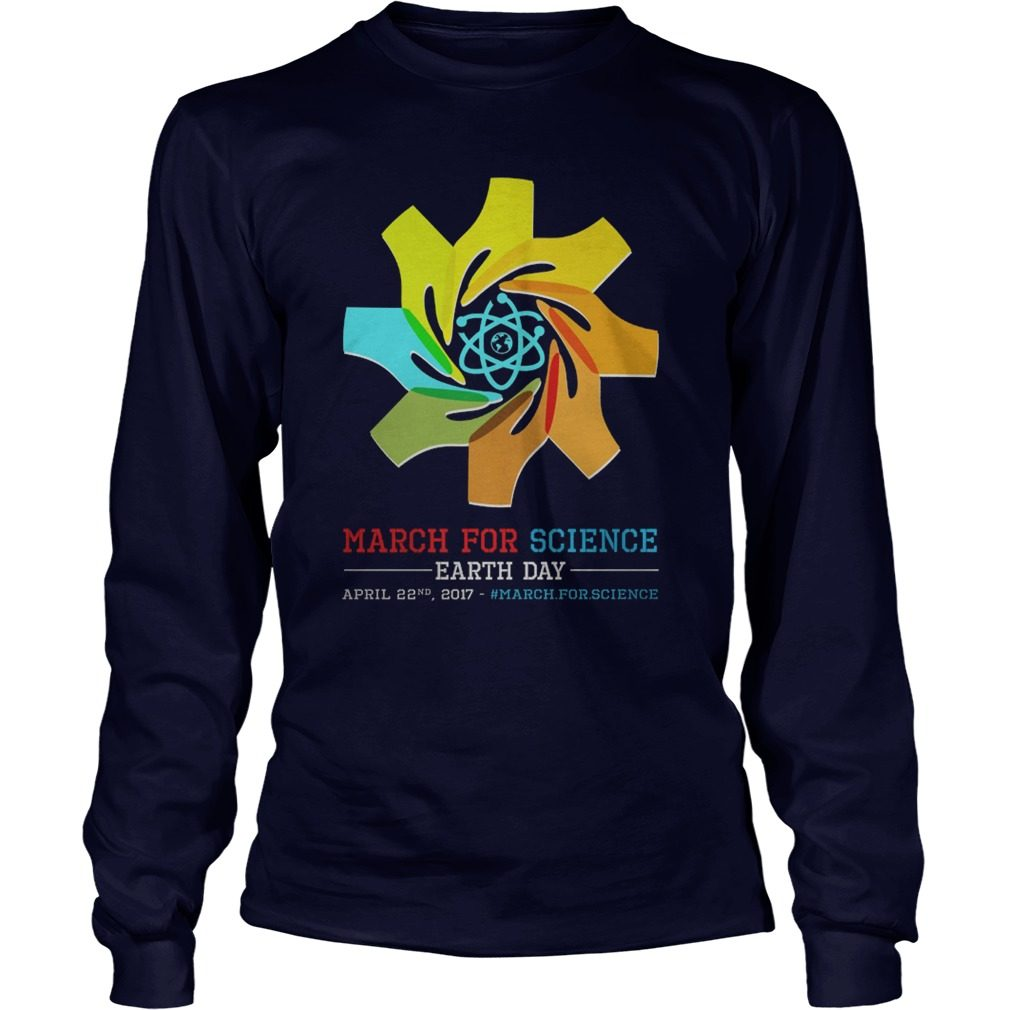 March Science Earth Day Unisex Longsleeve Tee