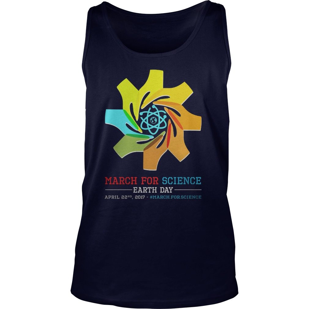 March Science Earth Day Unisex Tank Top