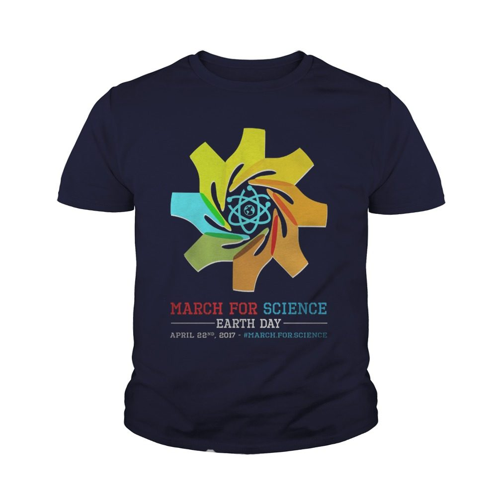 March Science Earth Day Youth Tee