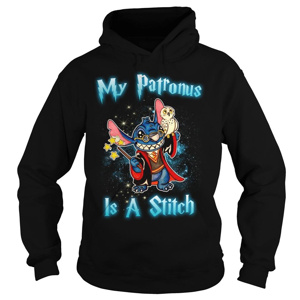 My Patronus Is Stitch Hoodie