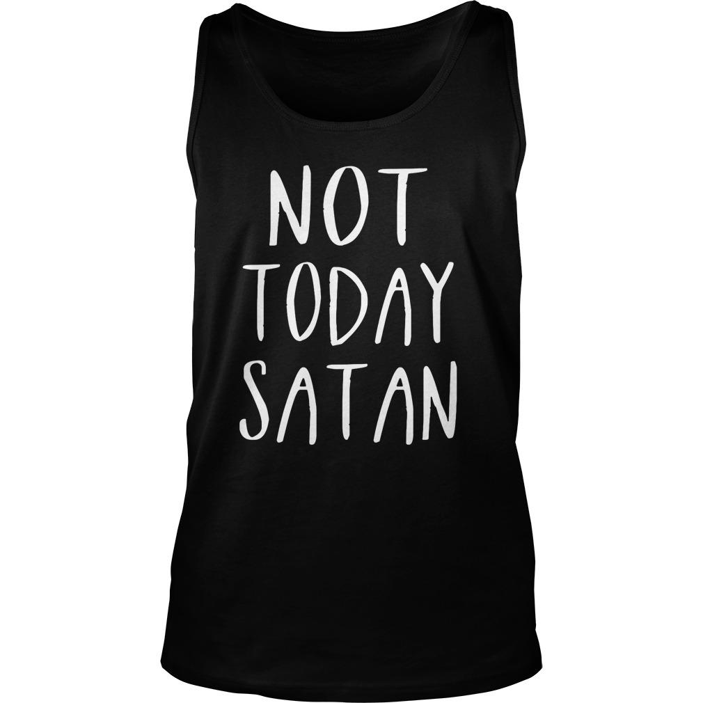 Not Today Satan Tank Top
