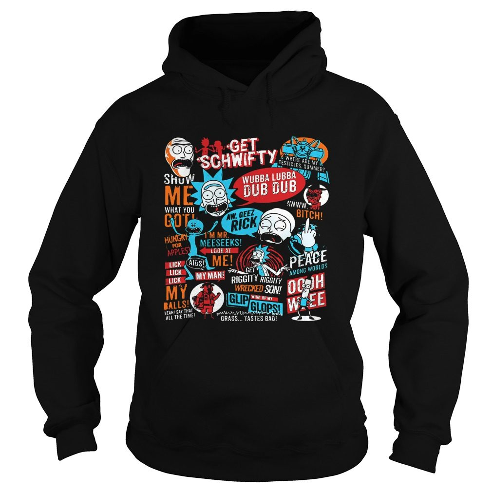 Offical Rick Morty Hoodie
