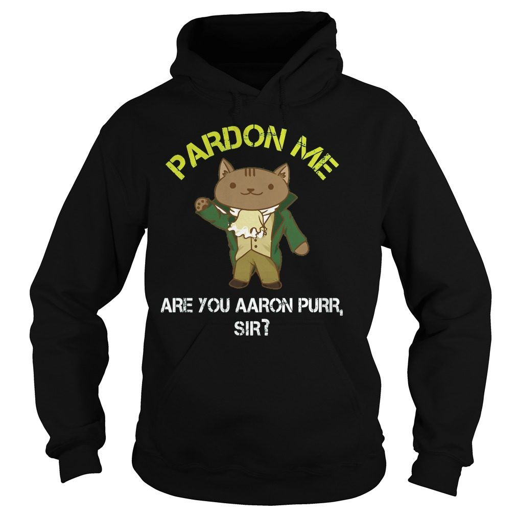 Pardon Me Are You Aaron Burr Sir Shirt