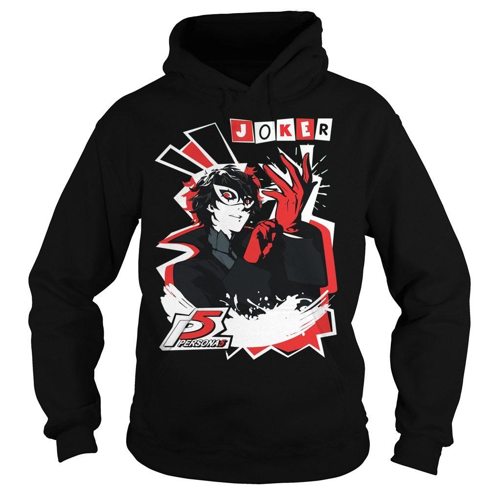 Persona 5 Joker Hoodie