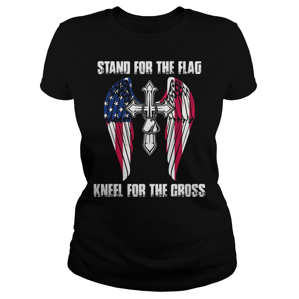 Stand For The Flag Kneel For The Fallen Shirt