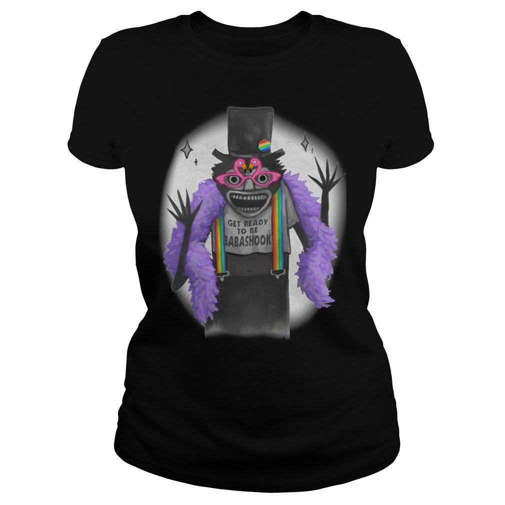 Babadook Babadook Get Ready Babadook Ladies Shirt