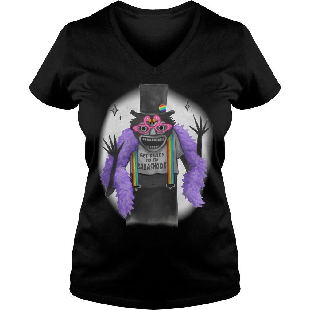 Babadook Babadook Get Ready Babadook V Neck T Shirt
