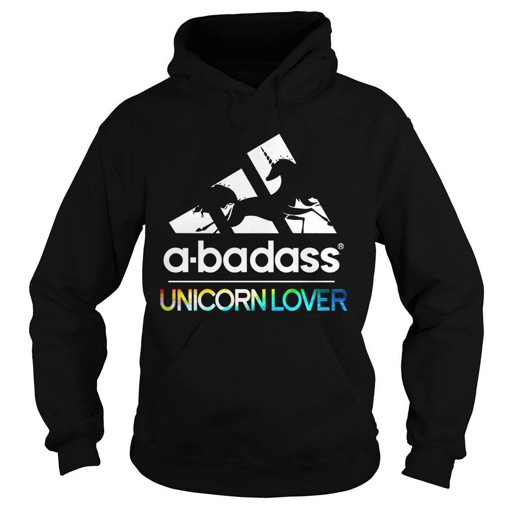 Badass Unicorn Lover Hoodie