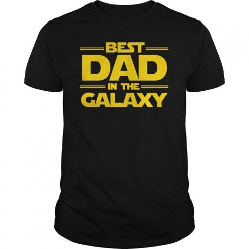 Best Dad Galaxy Shirt