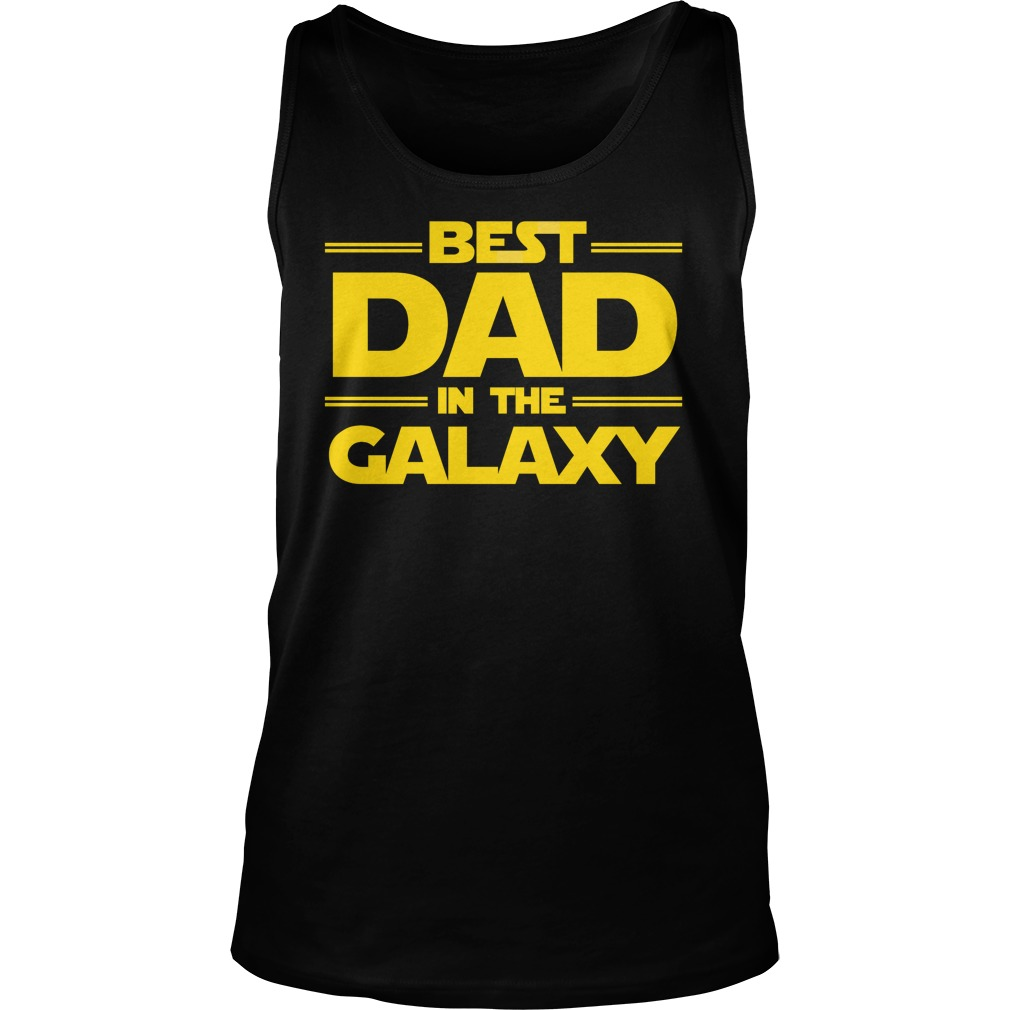 Best Dad Galaxy Tank Top