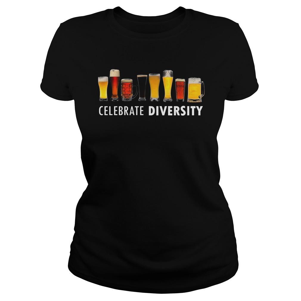 Celebrate Diversity Ladies Shirt