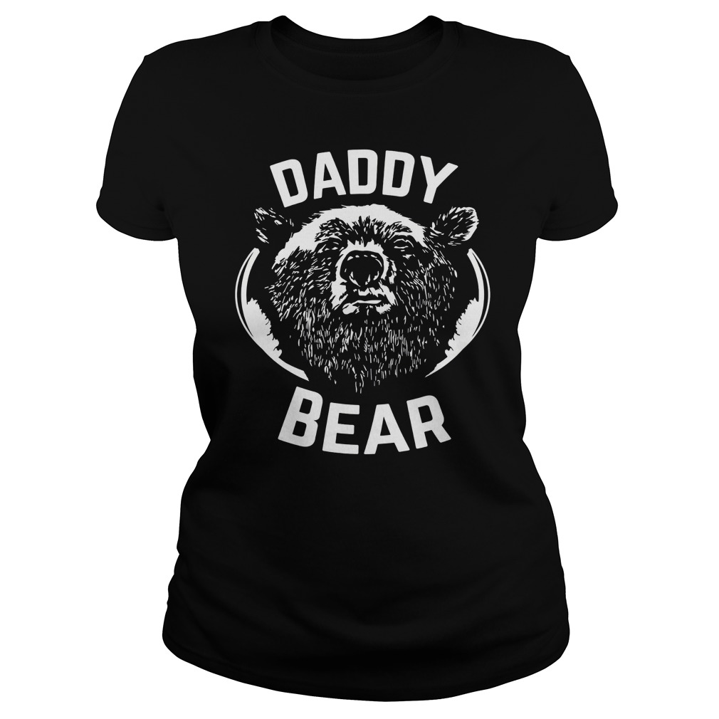 Daddy Bear Ladies Shirt