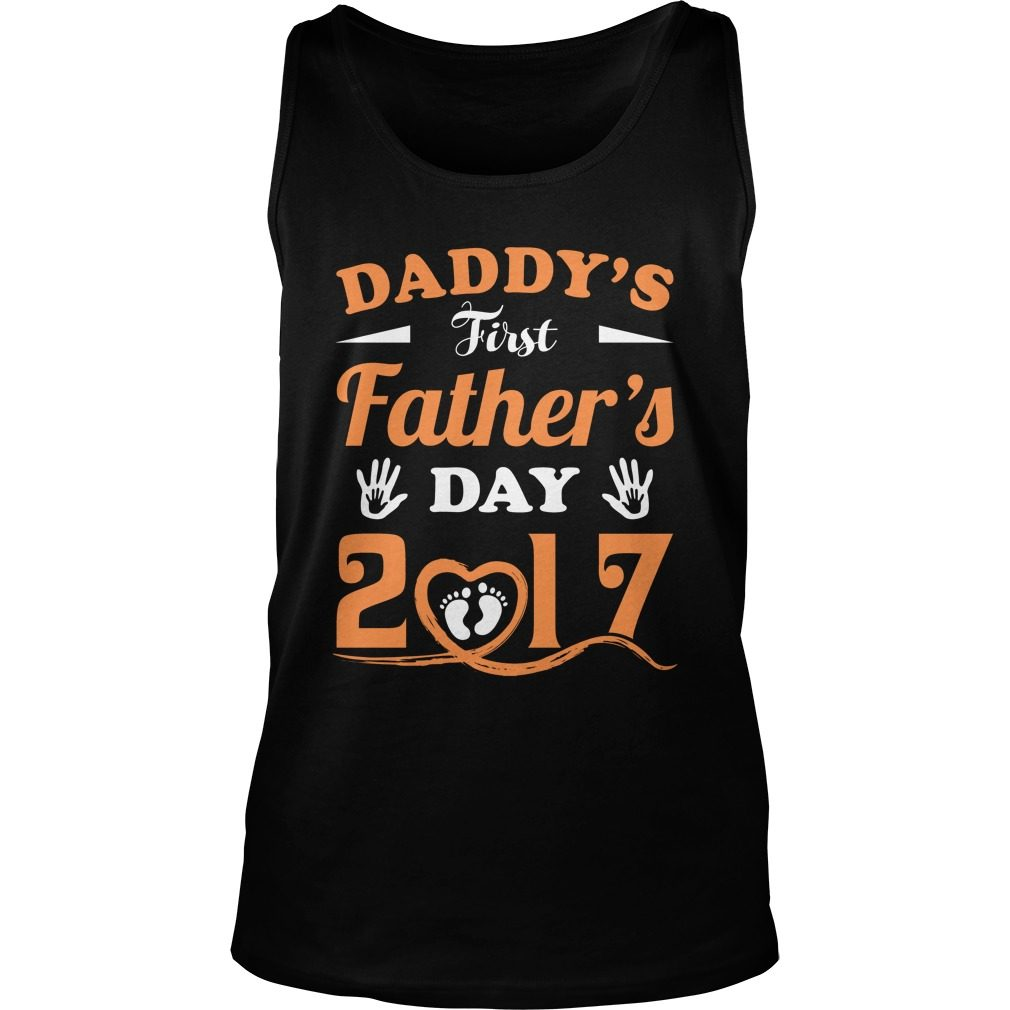 Daddys First Day Tank Top
