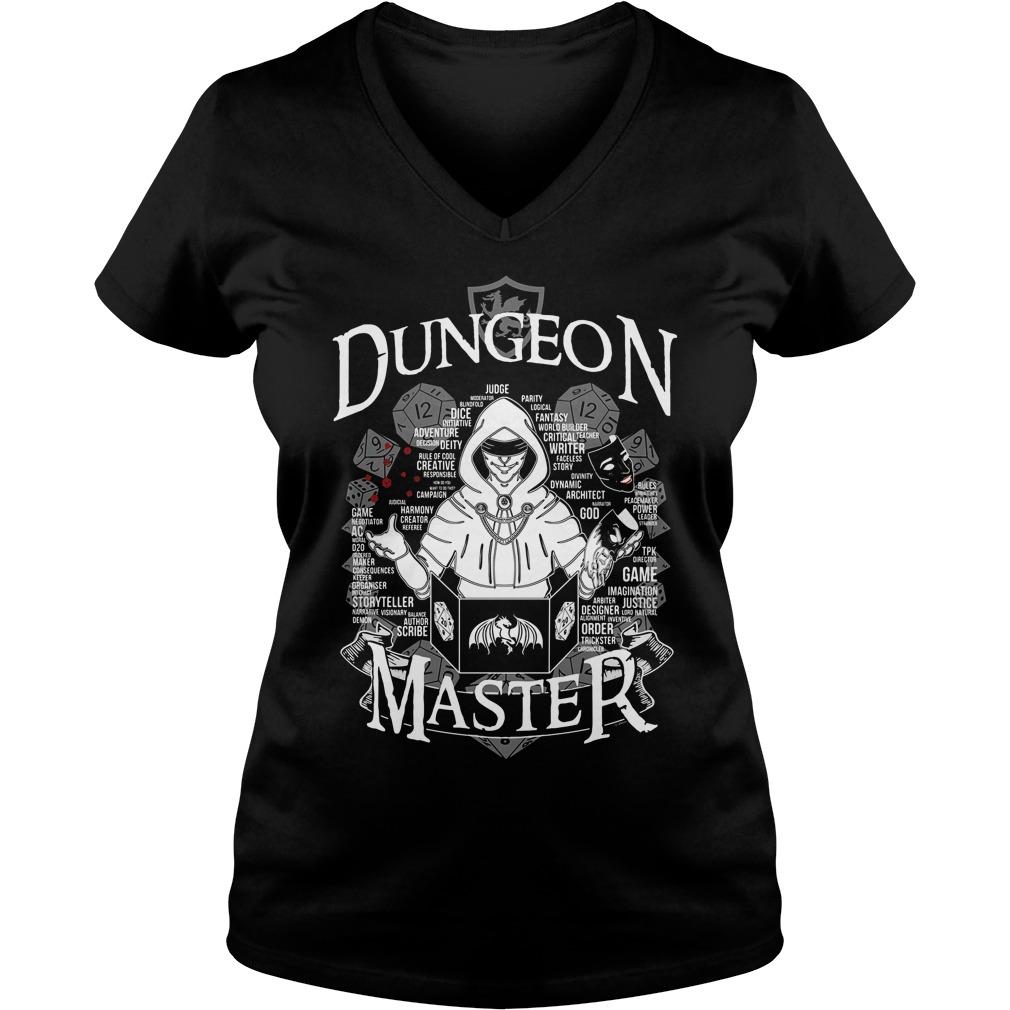 Dungeon Master V Neck T Shirt