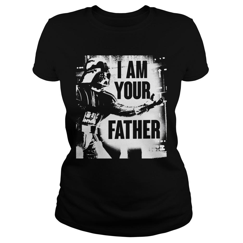 Father Starwar Ladies Shirt
