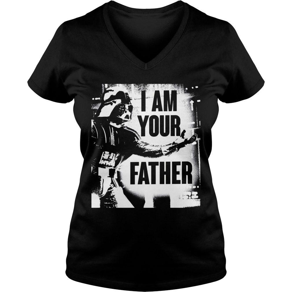 Father Starwar V Neck T Shirt