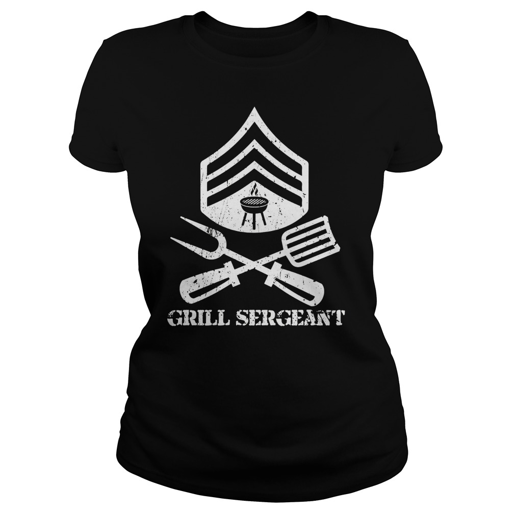 Grill Sergeant Ladies Shirt