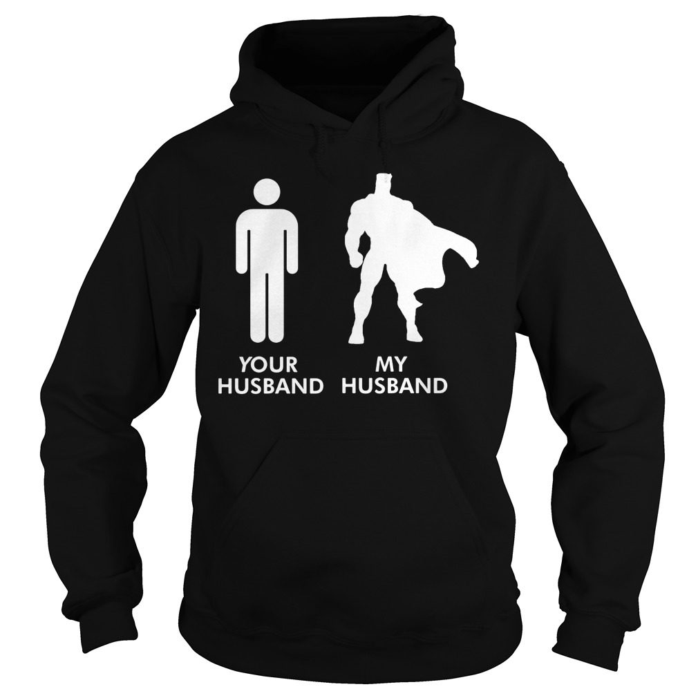 Husband Vs Husband Superhero Hoodie