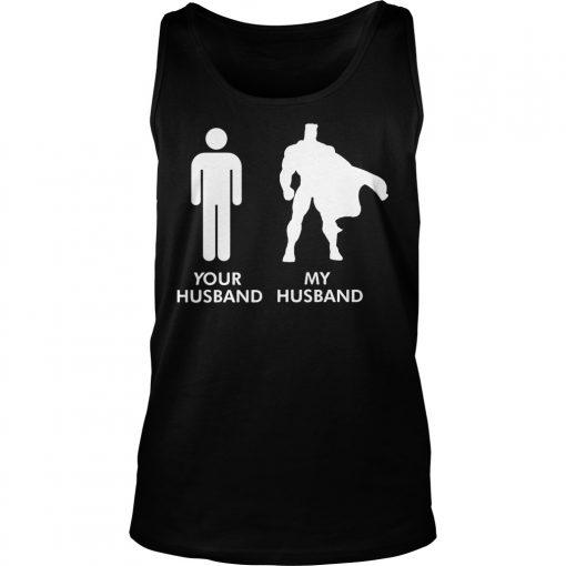 Husband Vs Husband Superhero Tank Top