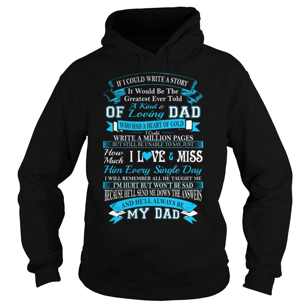Kind Loving Dad Hoodie