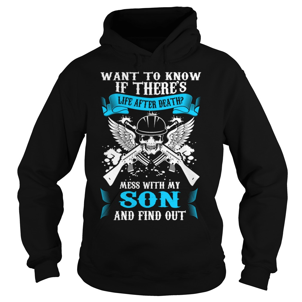 Life Death Mess Son Find Hoodie