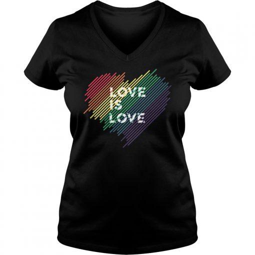 Love V Neck T Shirt