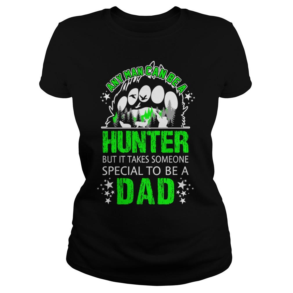 Man Can Hunter Special Dad Ladies Shirt
