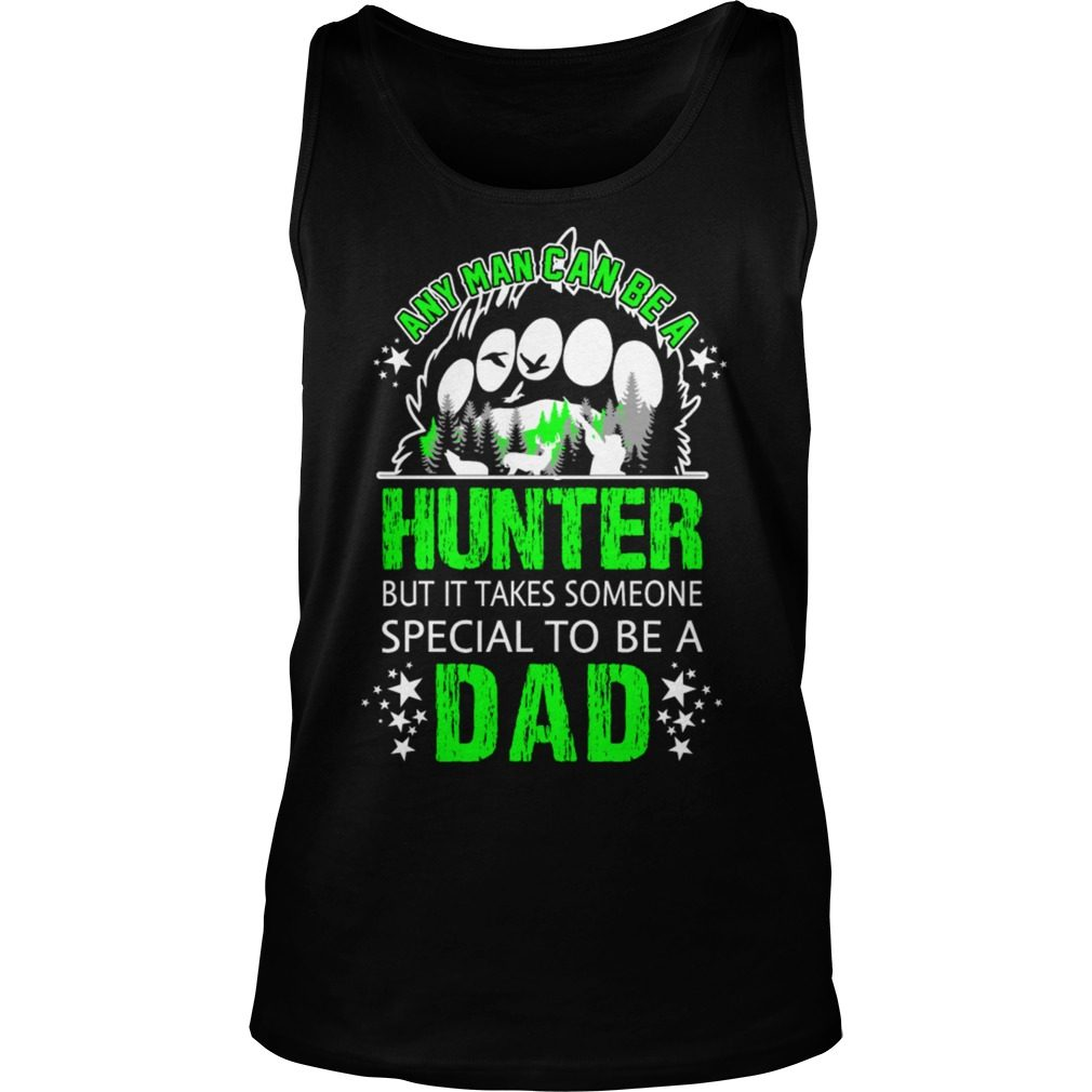 Man Can Hunter Special Dad Tank Top