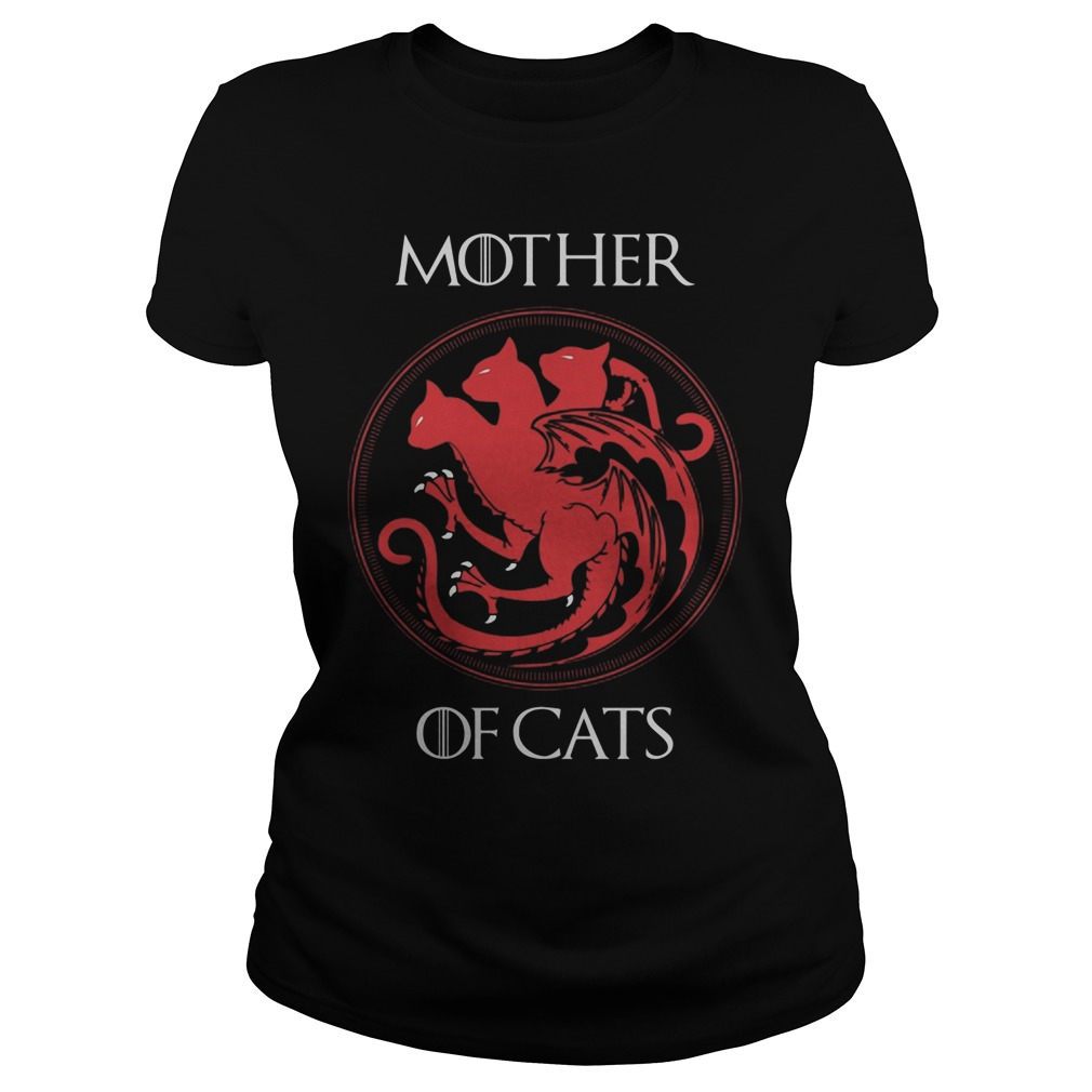 Mother Cats Ladies Shirt