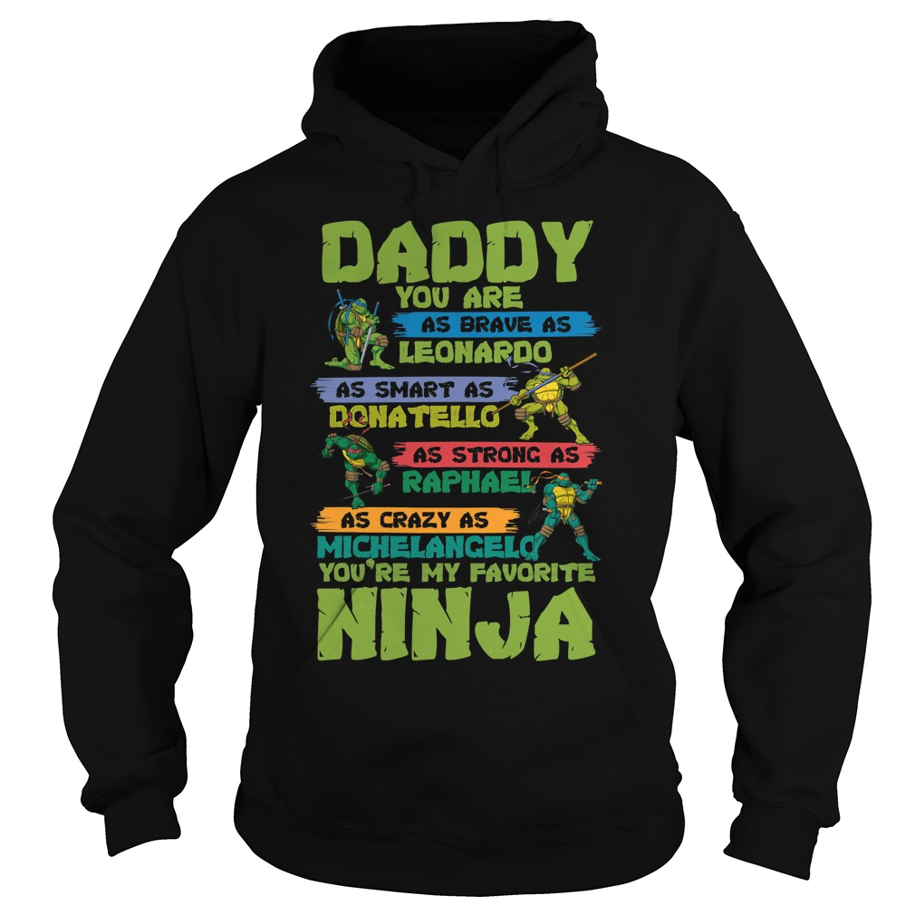 Ninja Daddy Ninja Hoodie