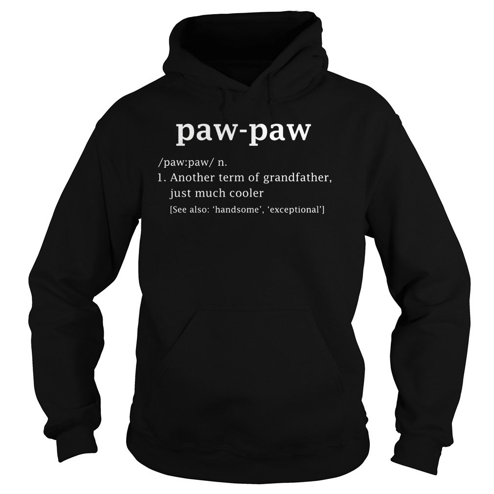 Paw Paw Definition Hoodie