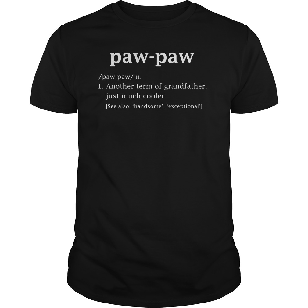 Paw Paw Definition Shirt