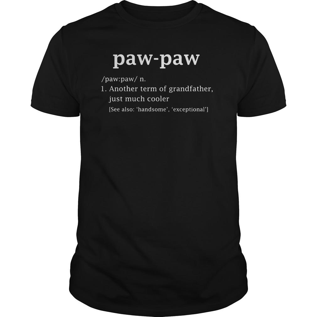 Paw Paw Definition Shirt