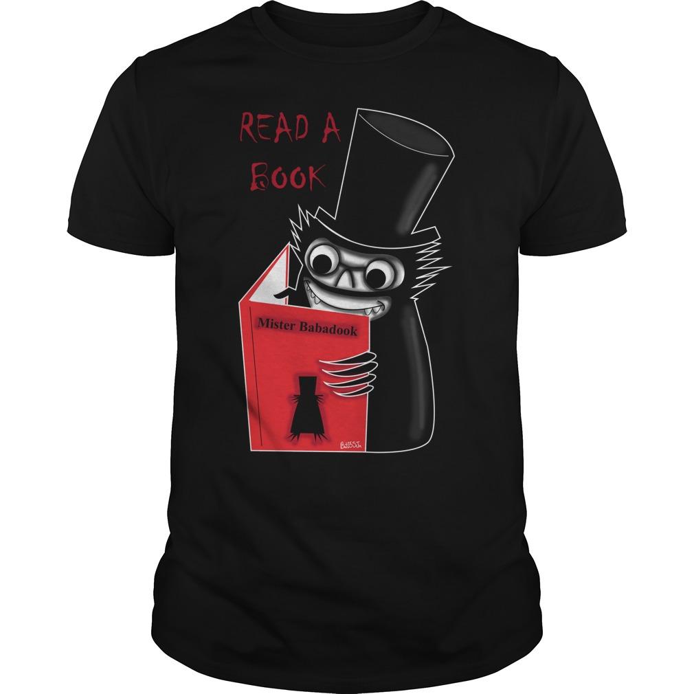 Read Book Mr Babadook Shirt
