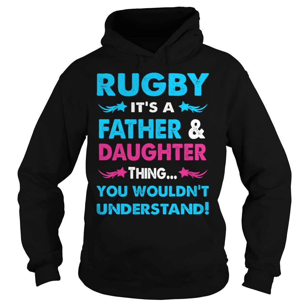 Rugby Father Daughter Hoodie