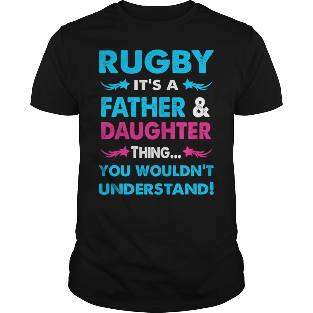 Rugby Father Daughter Shirt