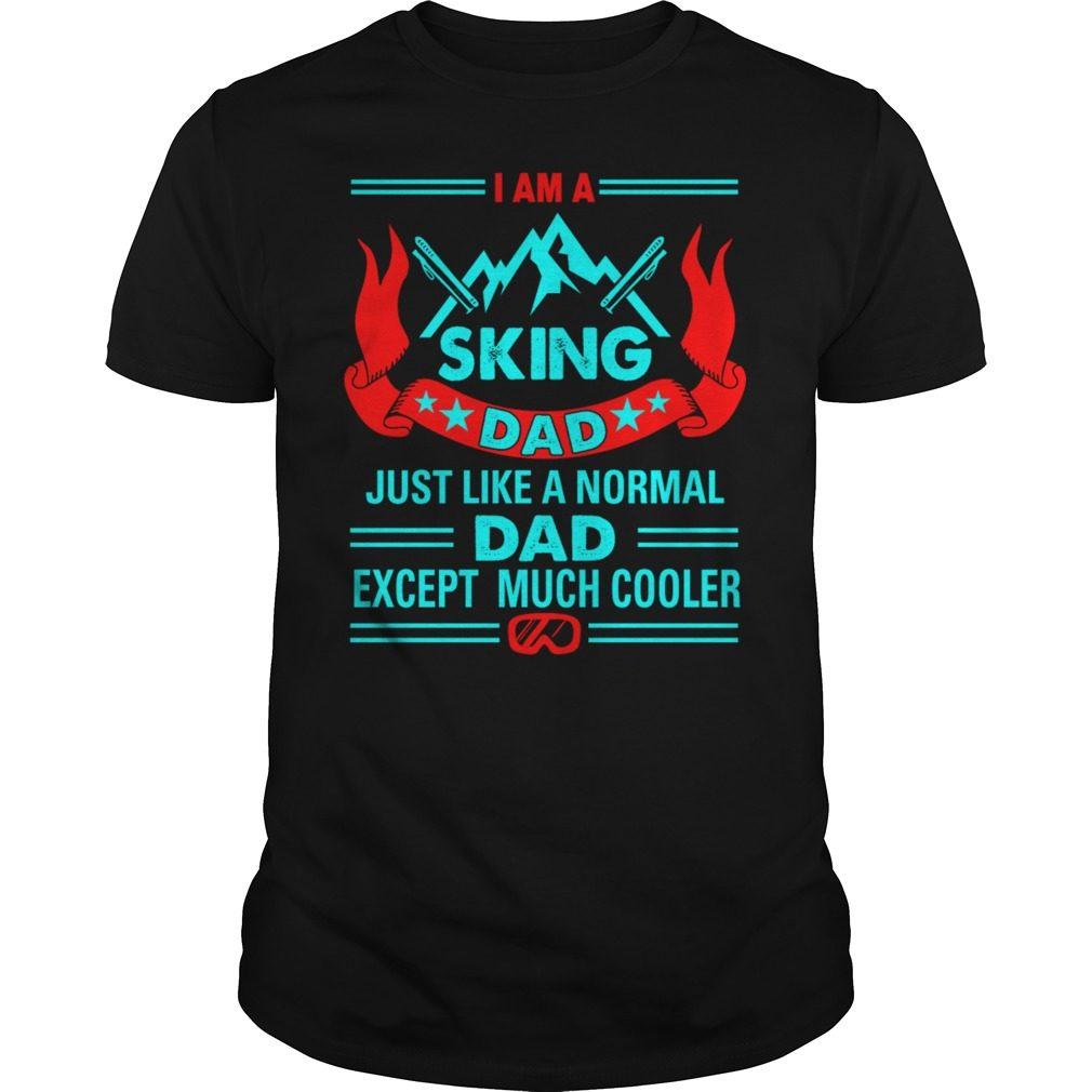 Sking Dad Shirt