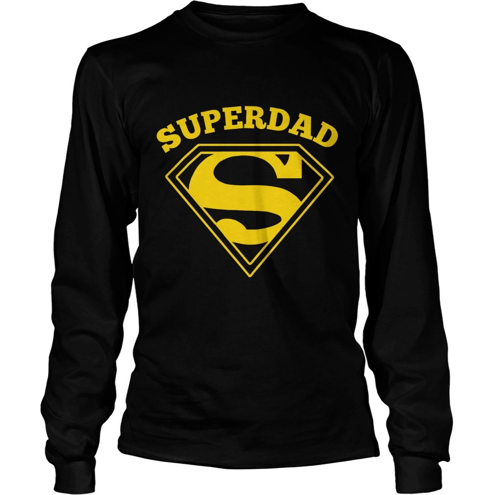 Super Dad Fathers Day Longsleeve Shirt