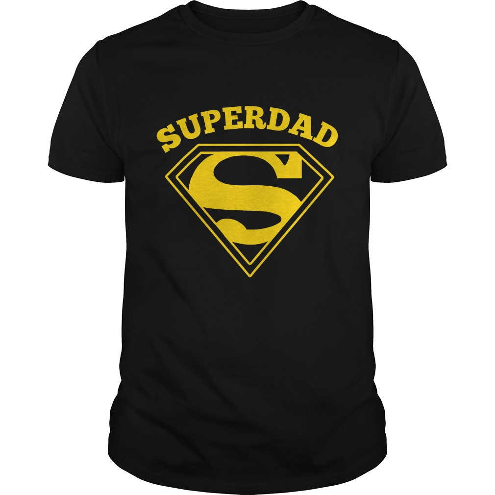 Super Dad Fathers Day Shirt