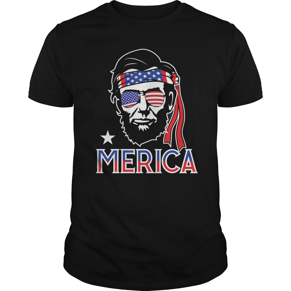 Abe Lincoln 4th July Hip American Shirt