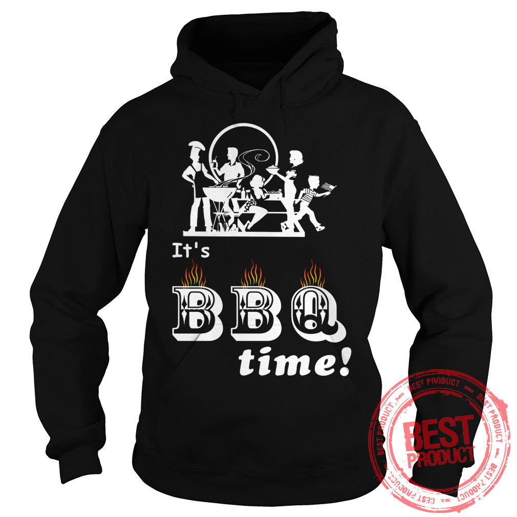 Barbecue Party Time Hoodie
