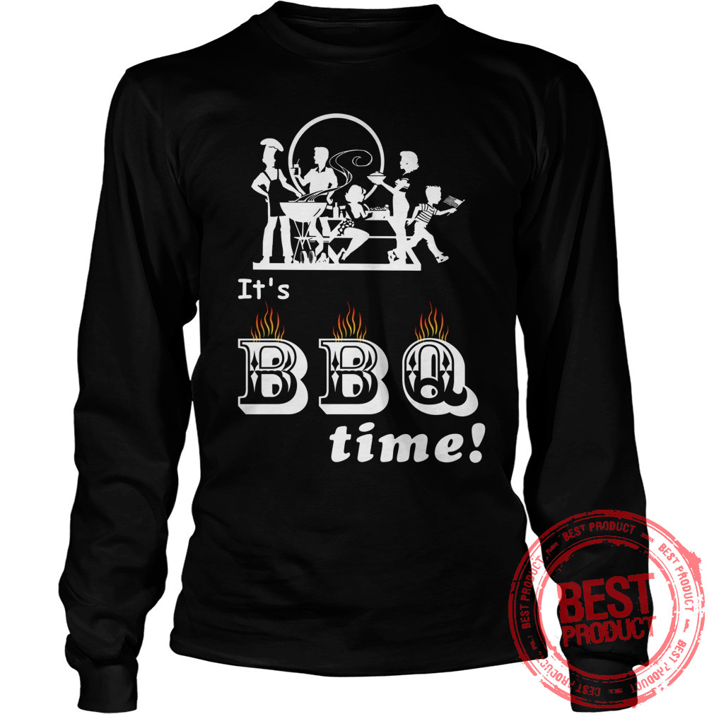 Barbecue Party Time Longsleeve
