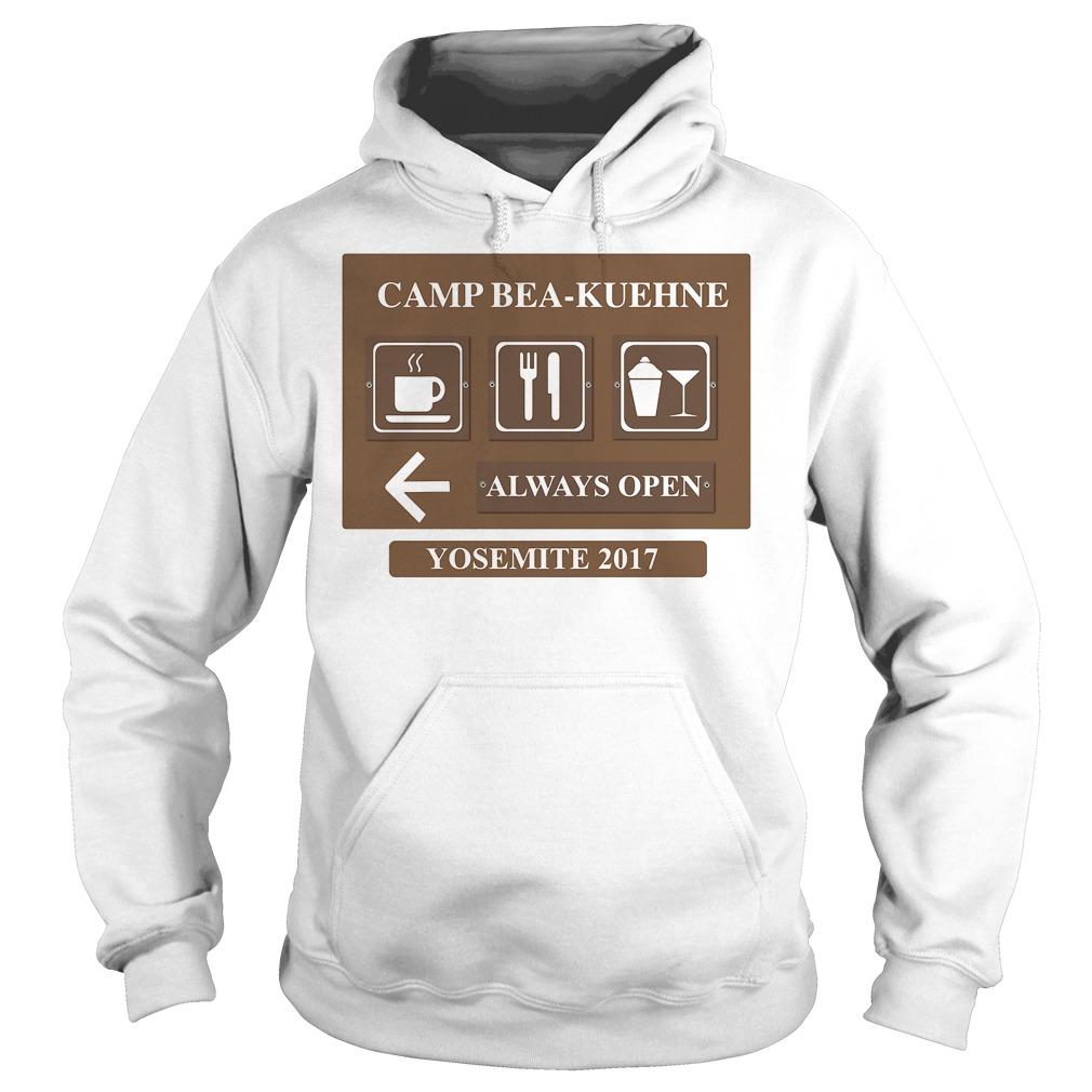 Camp Bea Kuehne Alway Open Yosemite 2017 Hoodie