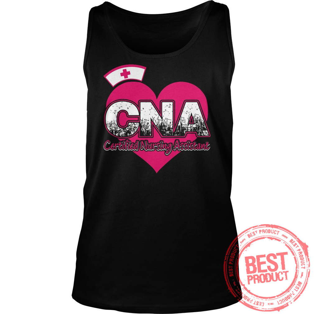 Cna Certified Nursing Assistant Tank Top