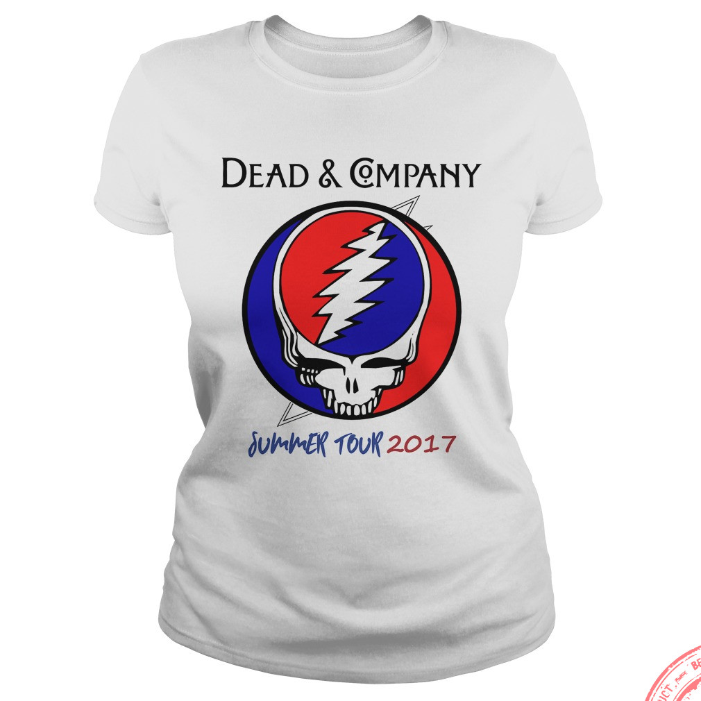 Dead Company Summer Tour 2017 Ladies Shirt