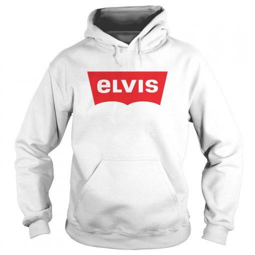 Elvis Levis Style Logo Hôdie