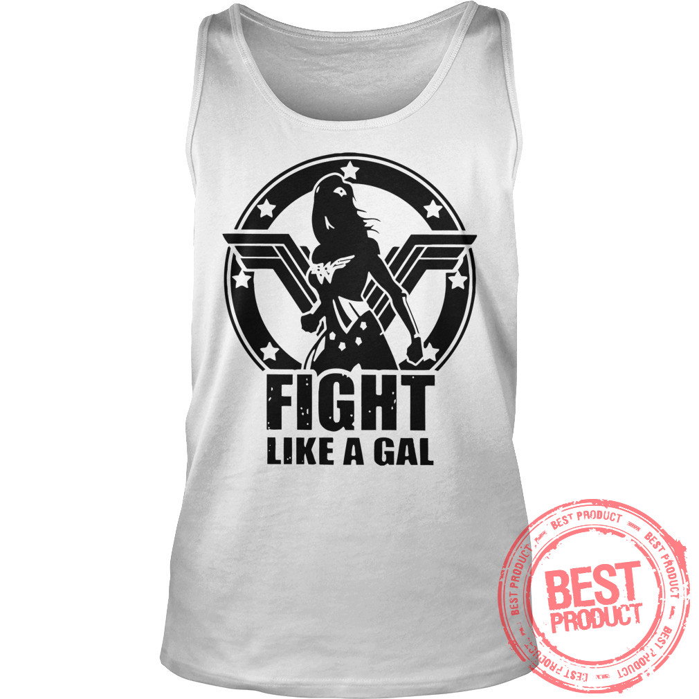 Fight Like Gal Wonder Woman Tank Top
