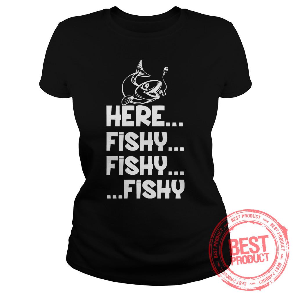 Fishy Fishy Fishy Ladies Shirt
